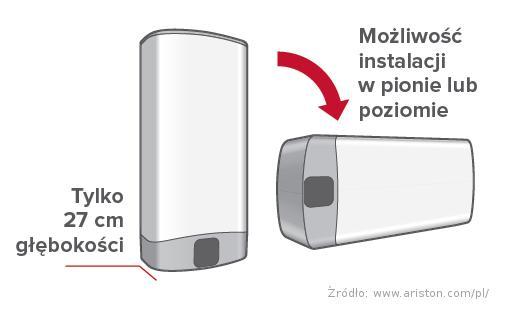 Ariston Velis Evo 100 Elektryczny Podgrzewacz Wody 3626147